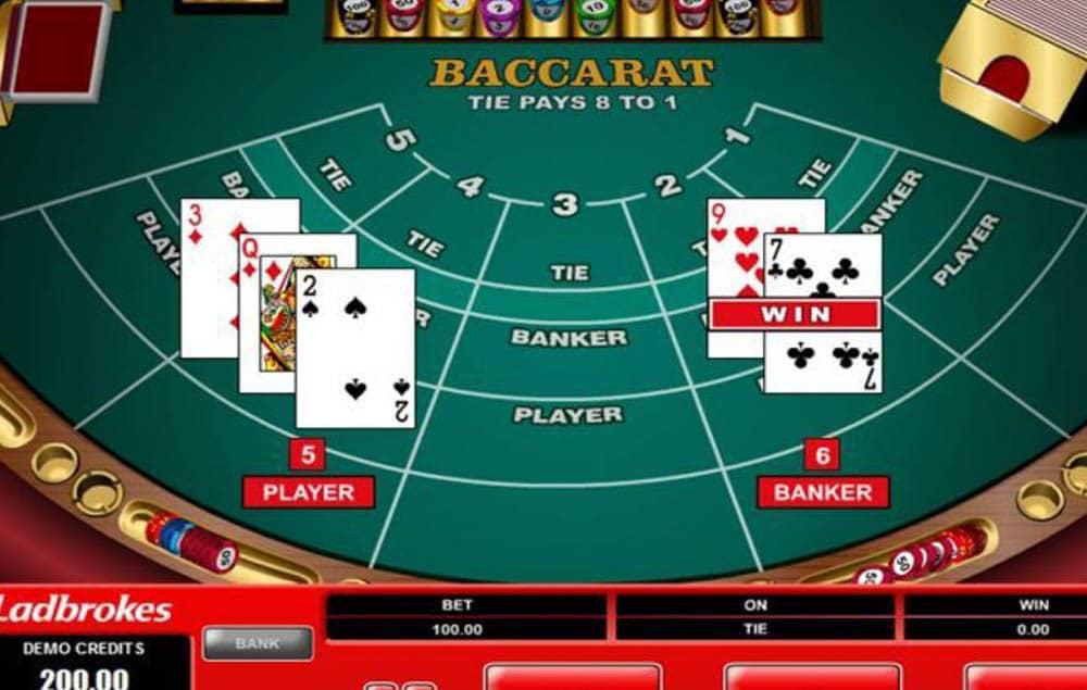 bakara casino oyunu kuralları nelerdir